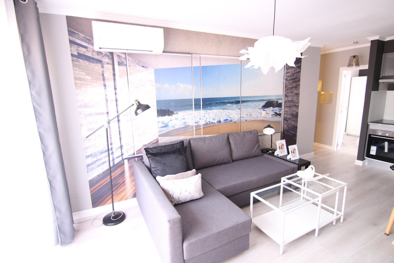 Wunderschönes total renoviertes Penthouse zum Verkauf in Moraira mit einer grossen Terrasse und herrlicher Meersicht.