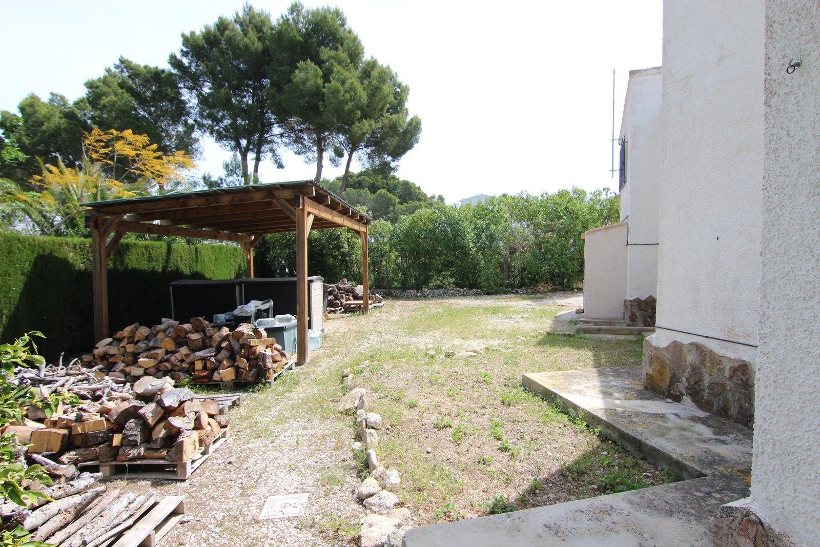 Villa zu verkaufen in Moraira mit Schwimmbad.