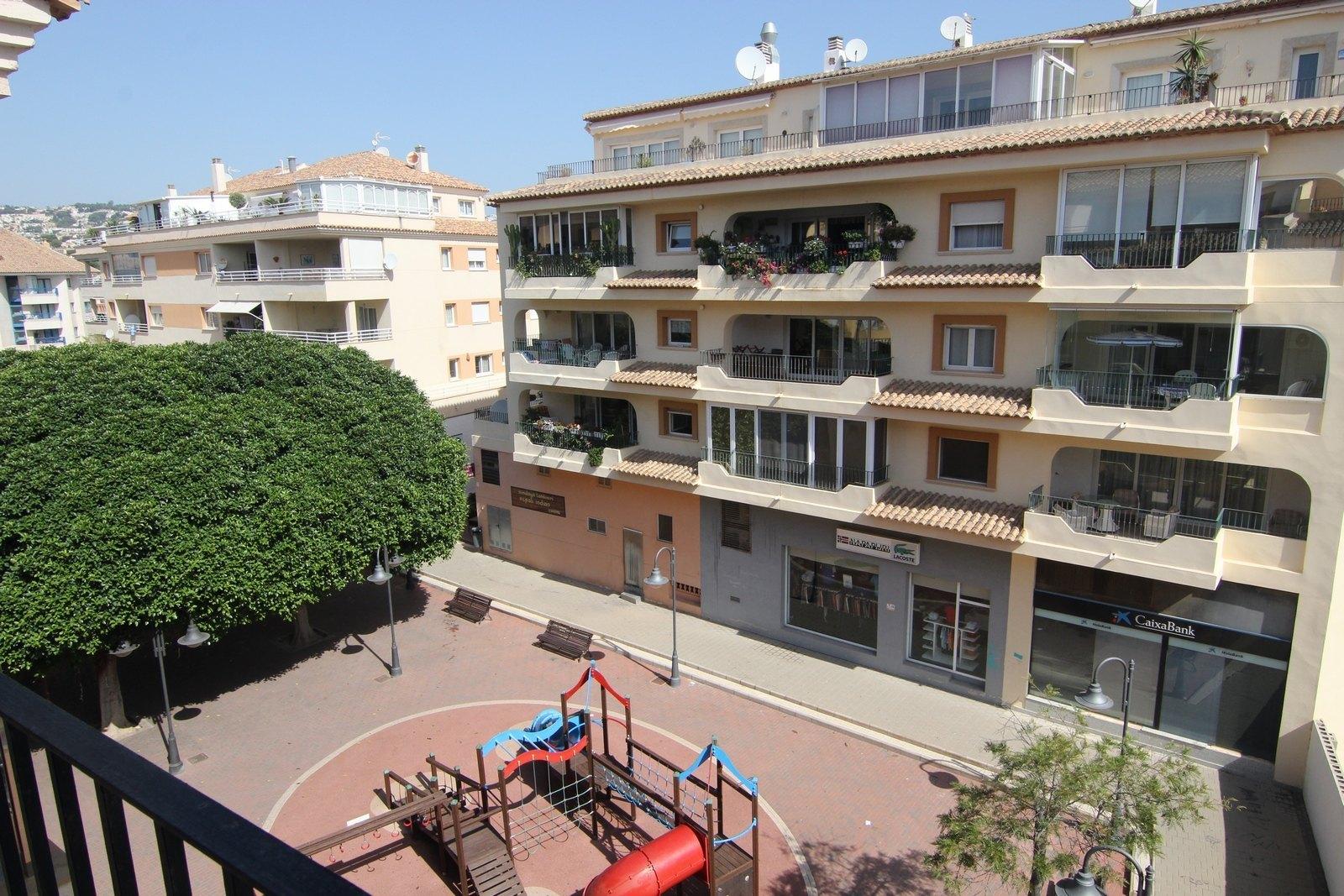 Moderne Wohnung zum Verkauf im Zentrum von Moraira.