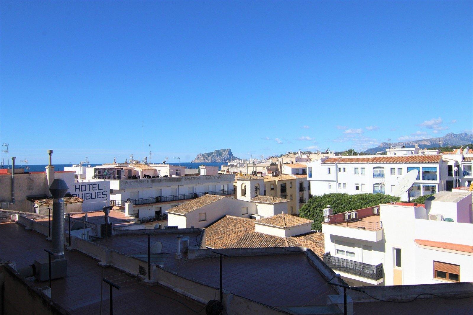 Wohnung mit Aufzug zum Verkauf im Zentrum von Moraira.