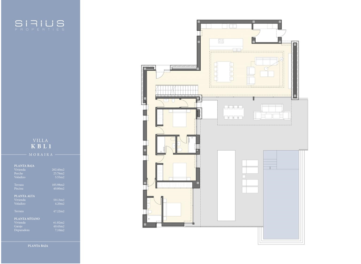 Luxus-Villa zum Verkauf in Moraira mit Meerblick.